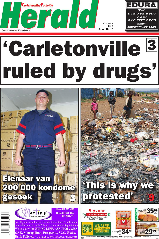 Carletonville herald 14 september 2012 by carletonvilleherald   issuu