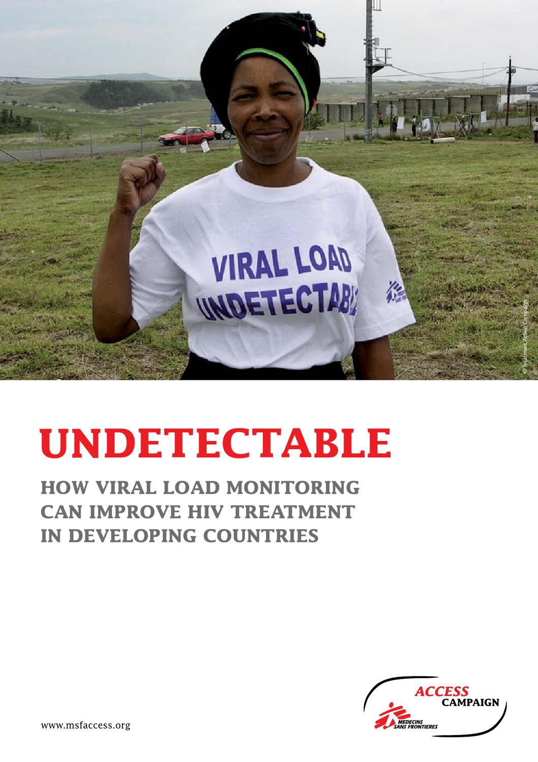 Undetectable: How Viral Load Monitoring Can Improve HIV ...
