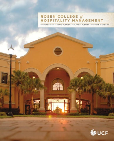 2012 Rosen College of Hospitality Management Viewbook