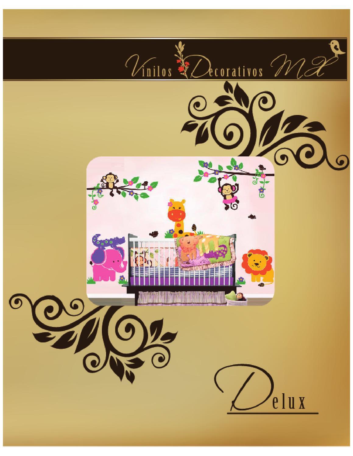 Catalogo de vinilos decorativos linea infantil deluxe para for Decoracion de interiores y exteriores