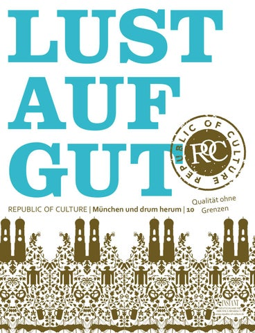 LUST AUF GUT Magazin | München Nr. 10