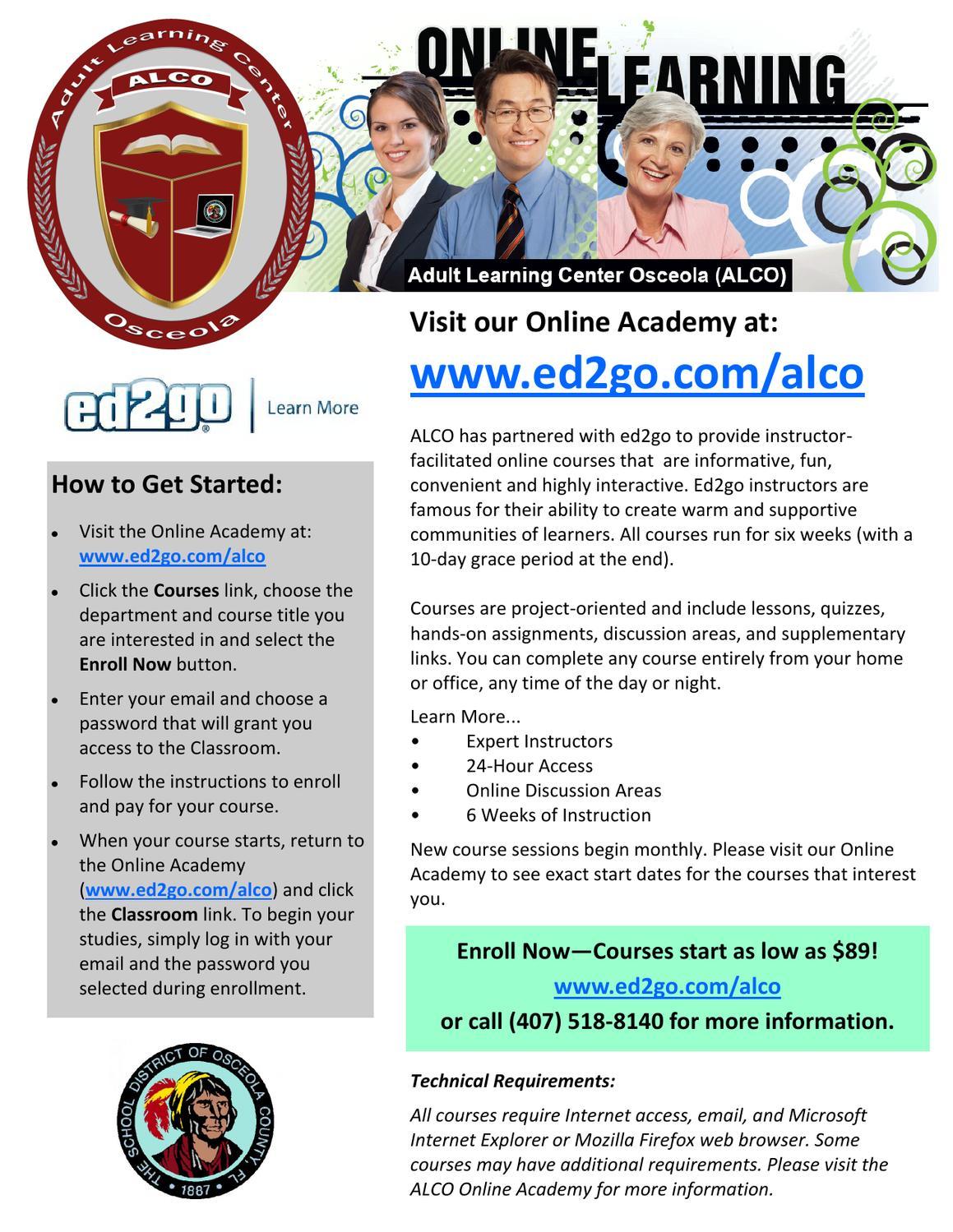 Adult Learning Center Osceola 90