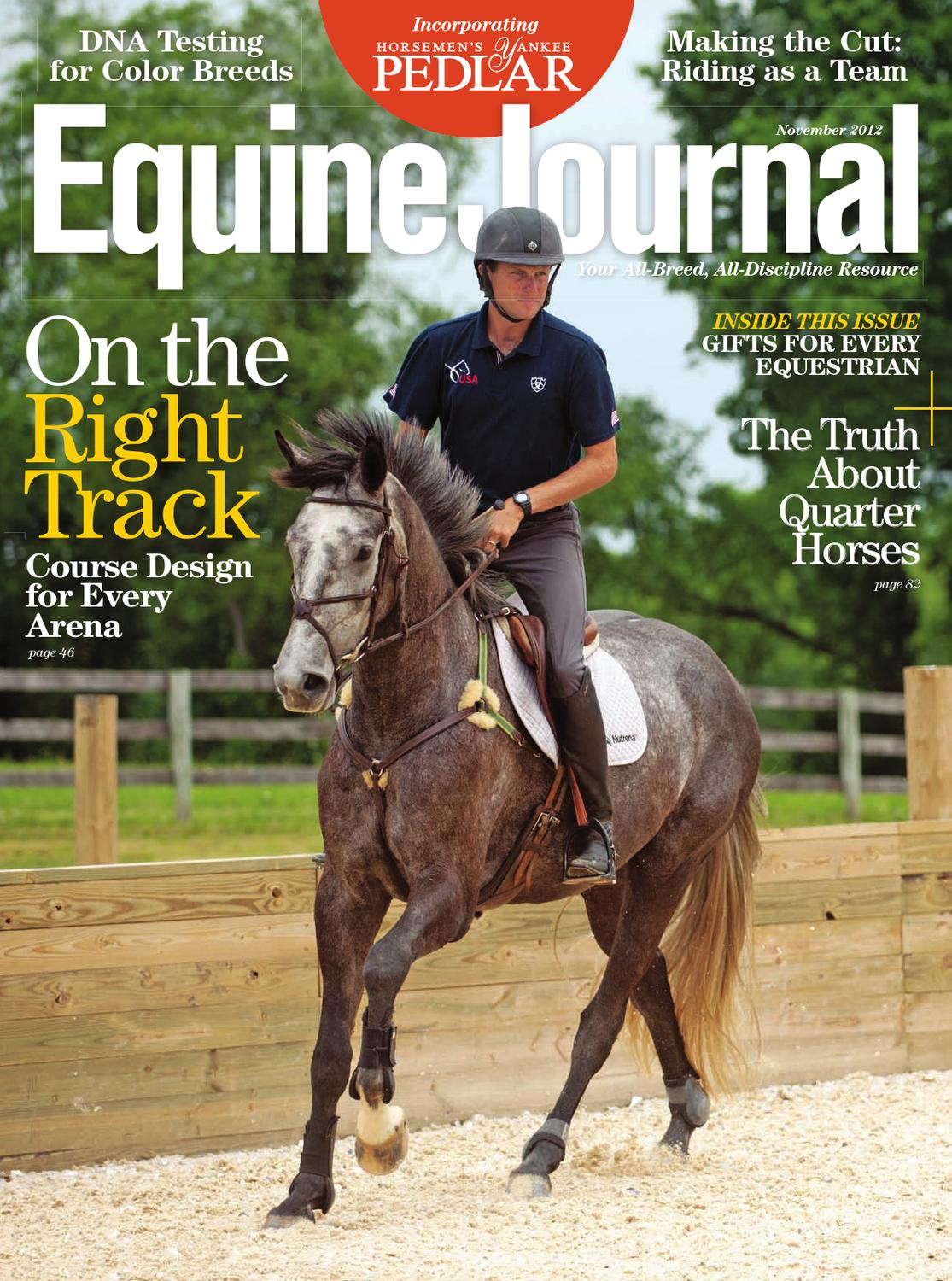 Does the national diploma in horse management have a written exam?