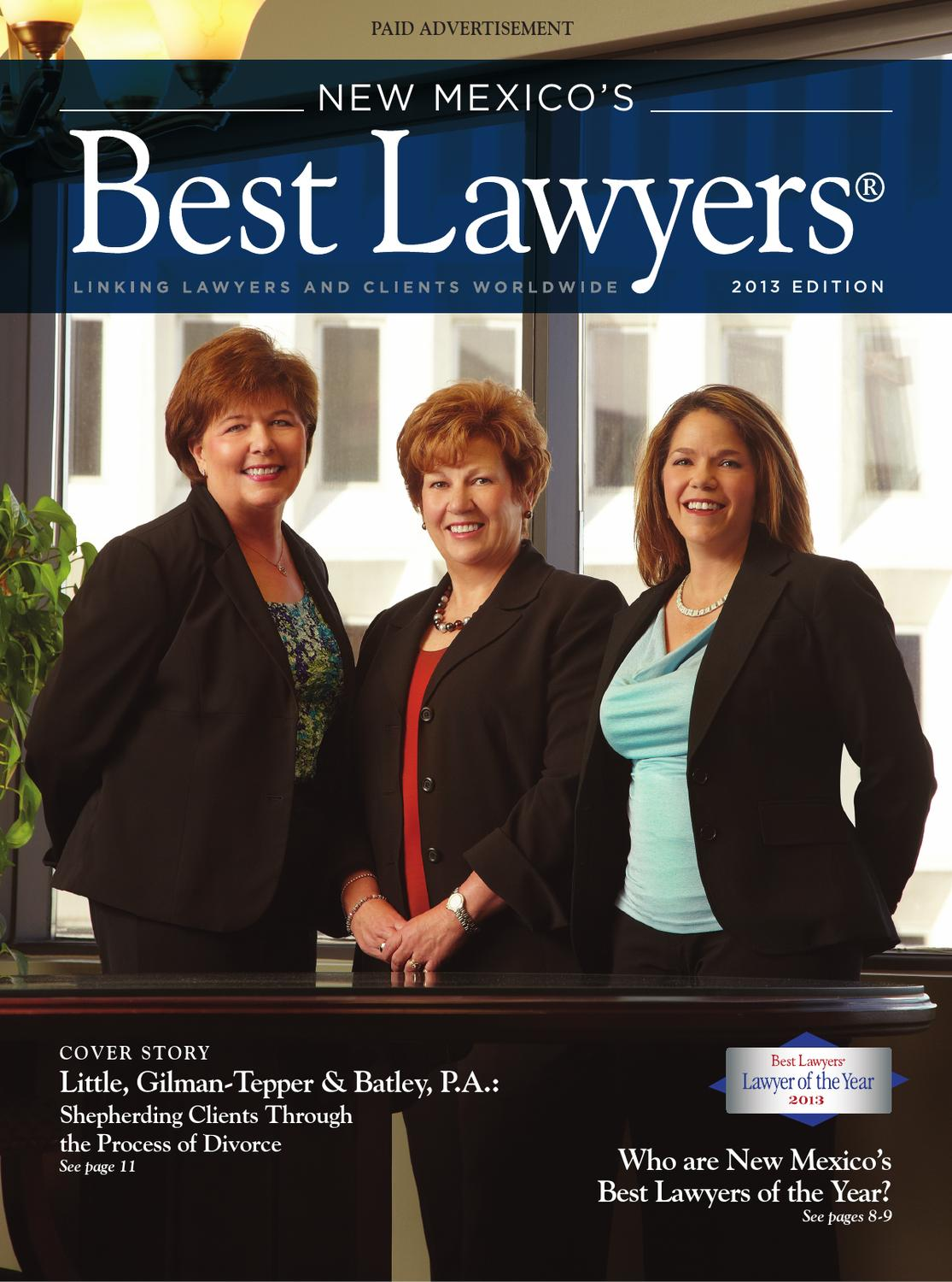 New Mexico's Best Lawyers by Best Lawyers - issuu