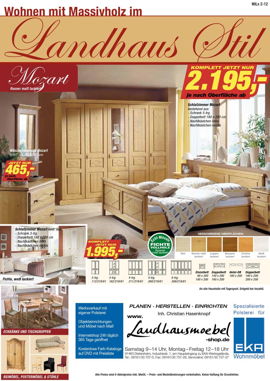 Landhausm bel wohnen im landhausstil herbst 2012 by for Wohnen shop