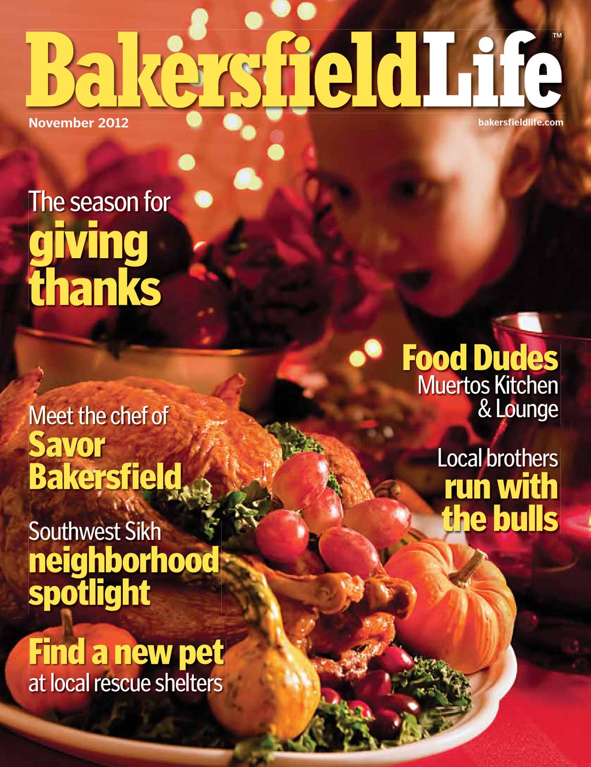 Bakersfield Life Magazine November 2012 By Tbc Media