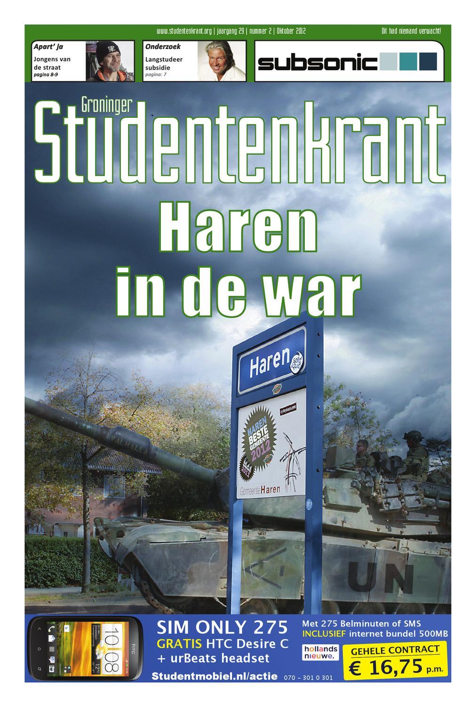 Sk oktober 2012 by groninger studentenkrant   issuu