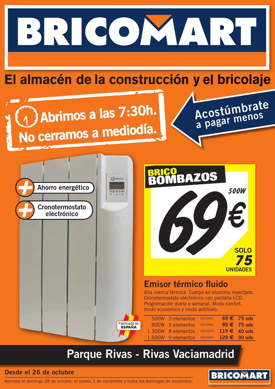 Termostato bricomart transportes de paneles de madera - Pellets bricomart ...