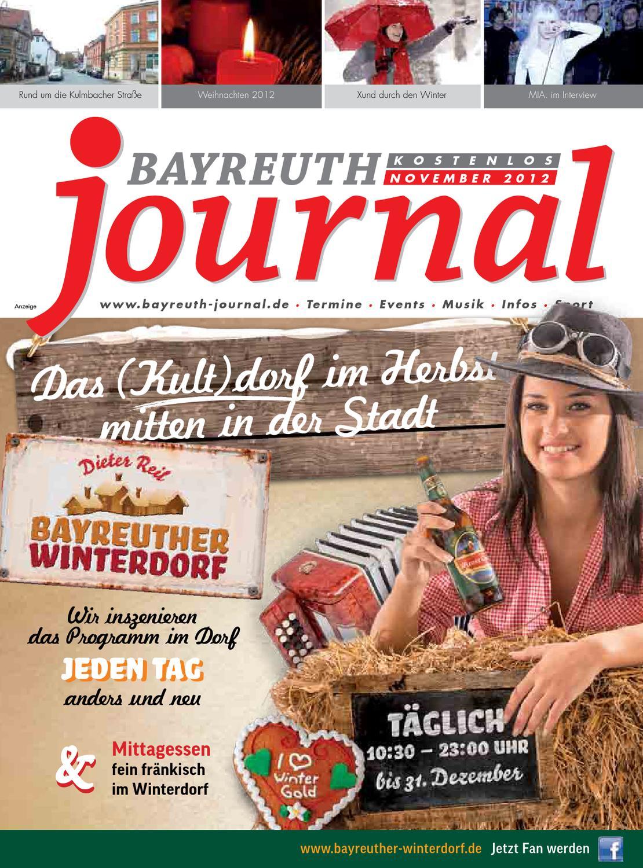 Bayreuth journal november 2009 by magazin verlag franken gmbh   issuu