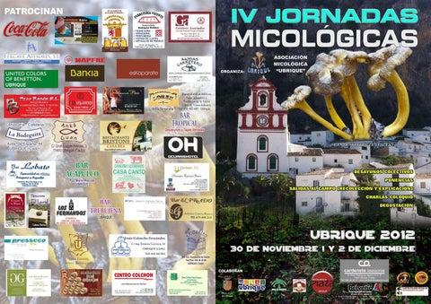 4 Jornadas Micológicas (Ubrique 2012)