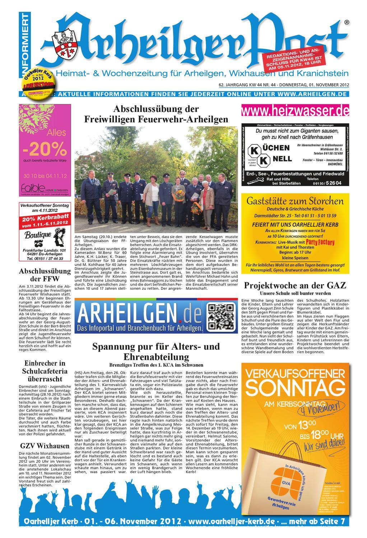 Arheilger Post KW44 by printdesign24gmbh - issuu