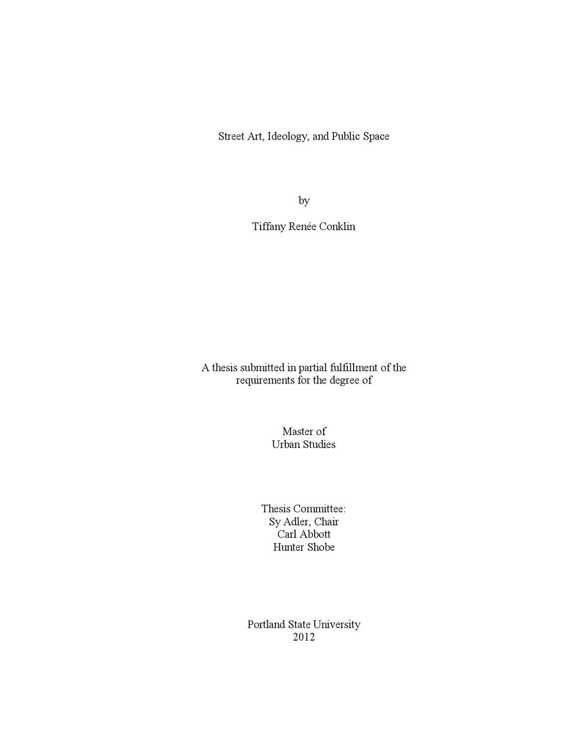 Ev thesis