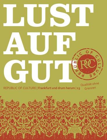 LUST AUF GUT Magazin | Frankfurt Nr. 13