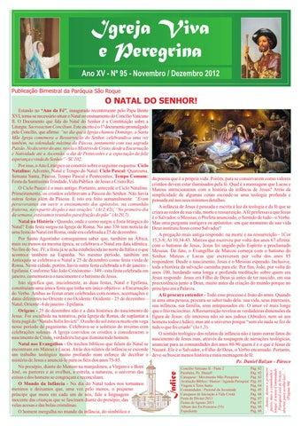 [Igreja Viva e Peregrina – Novembro/Dezembro 2012]