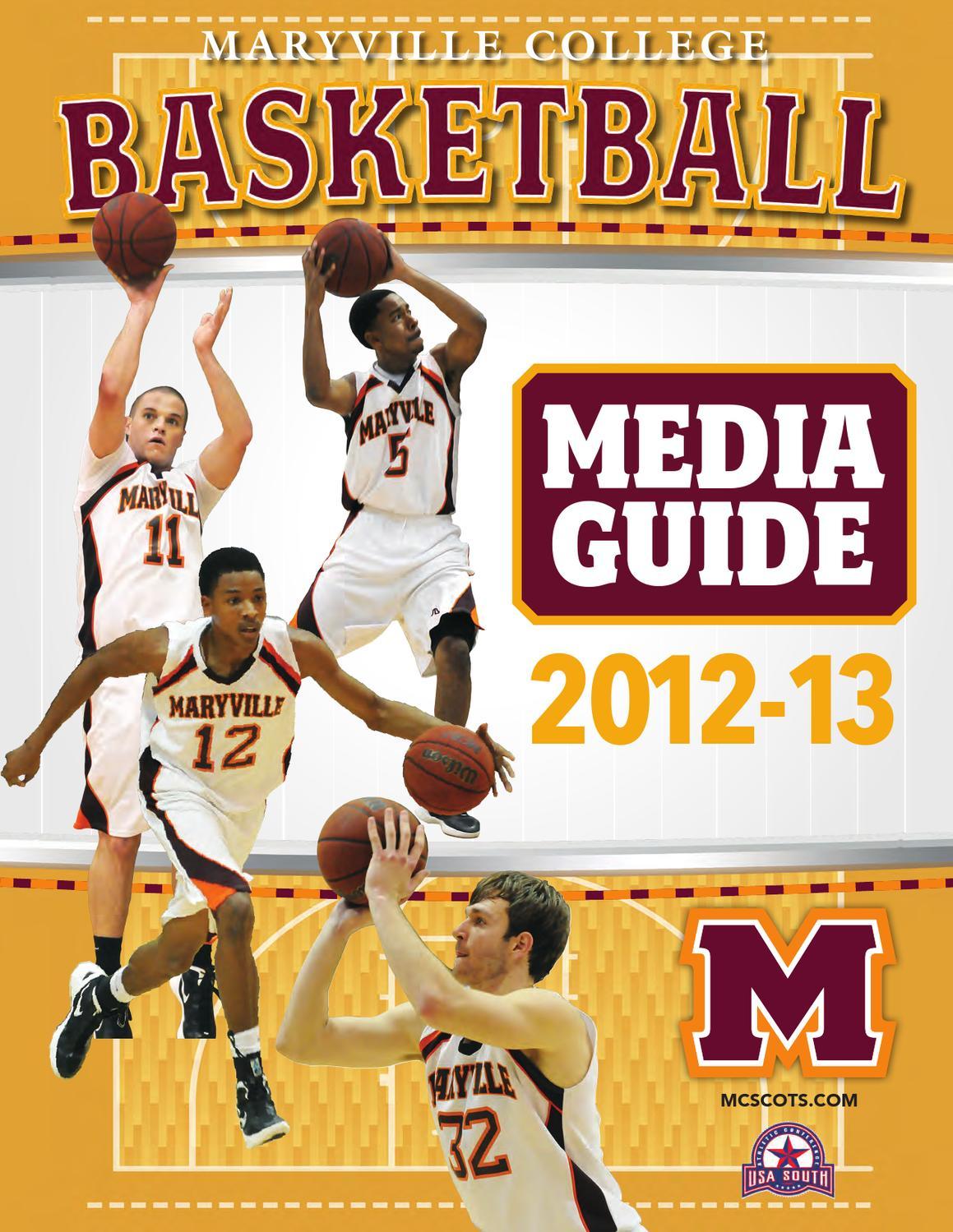 2012-2013 Maryville College Men's Basketball Media Guide ...