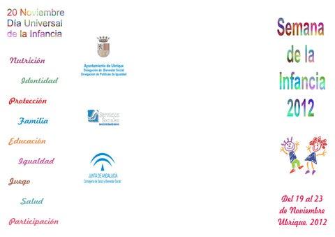 Semana de la Infancia 2012