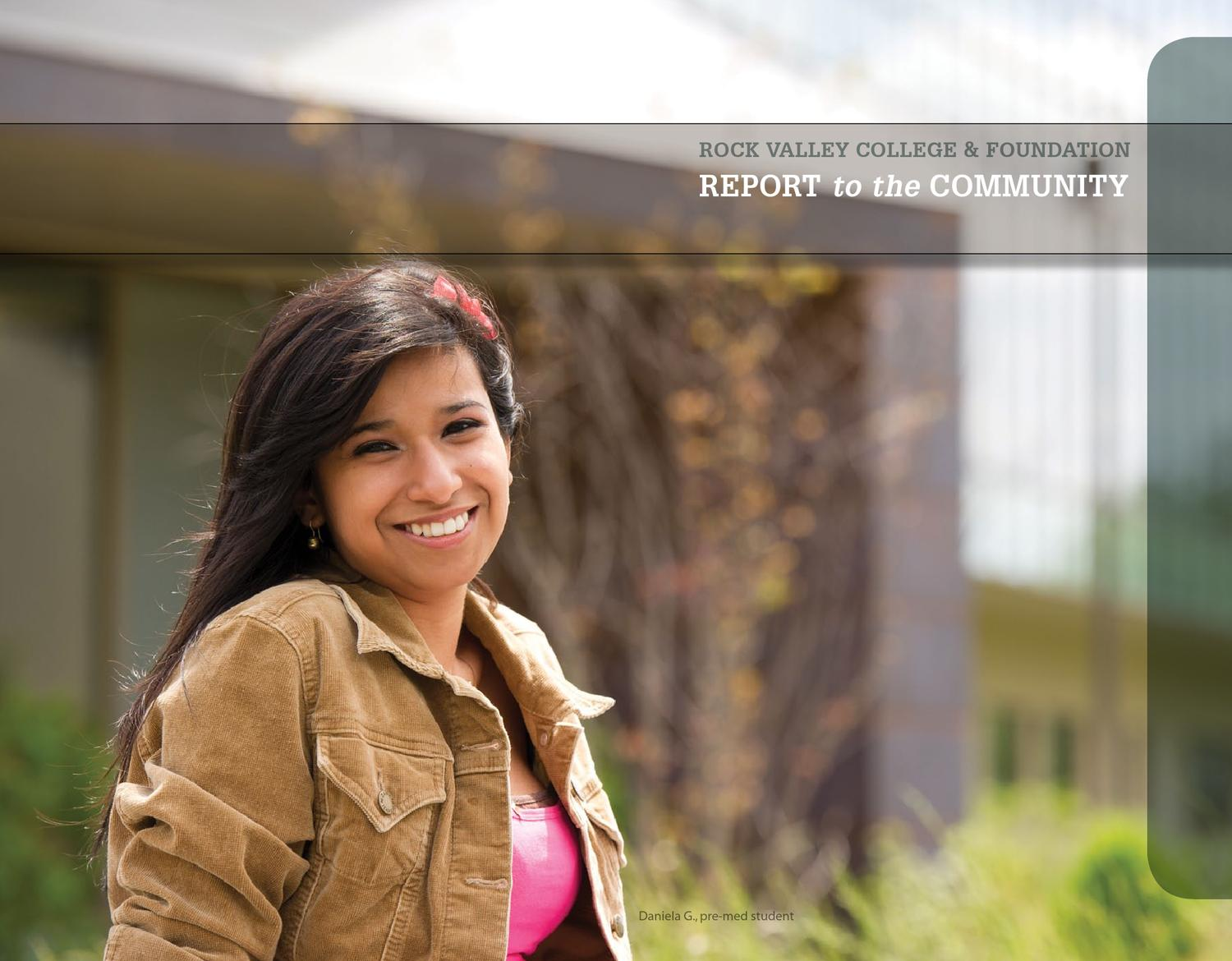 RVC Annual Report 2012 by Rock Valley College - issuu