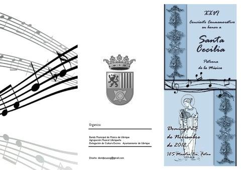 XXVI Concierto conmemorativo de Santa Cecilia (Ubrique 2012)