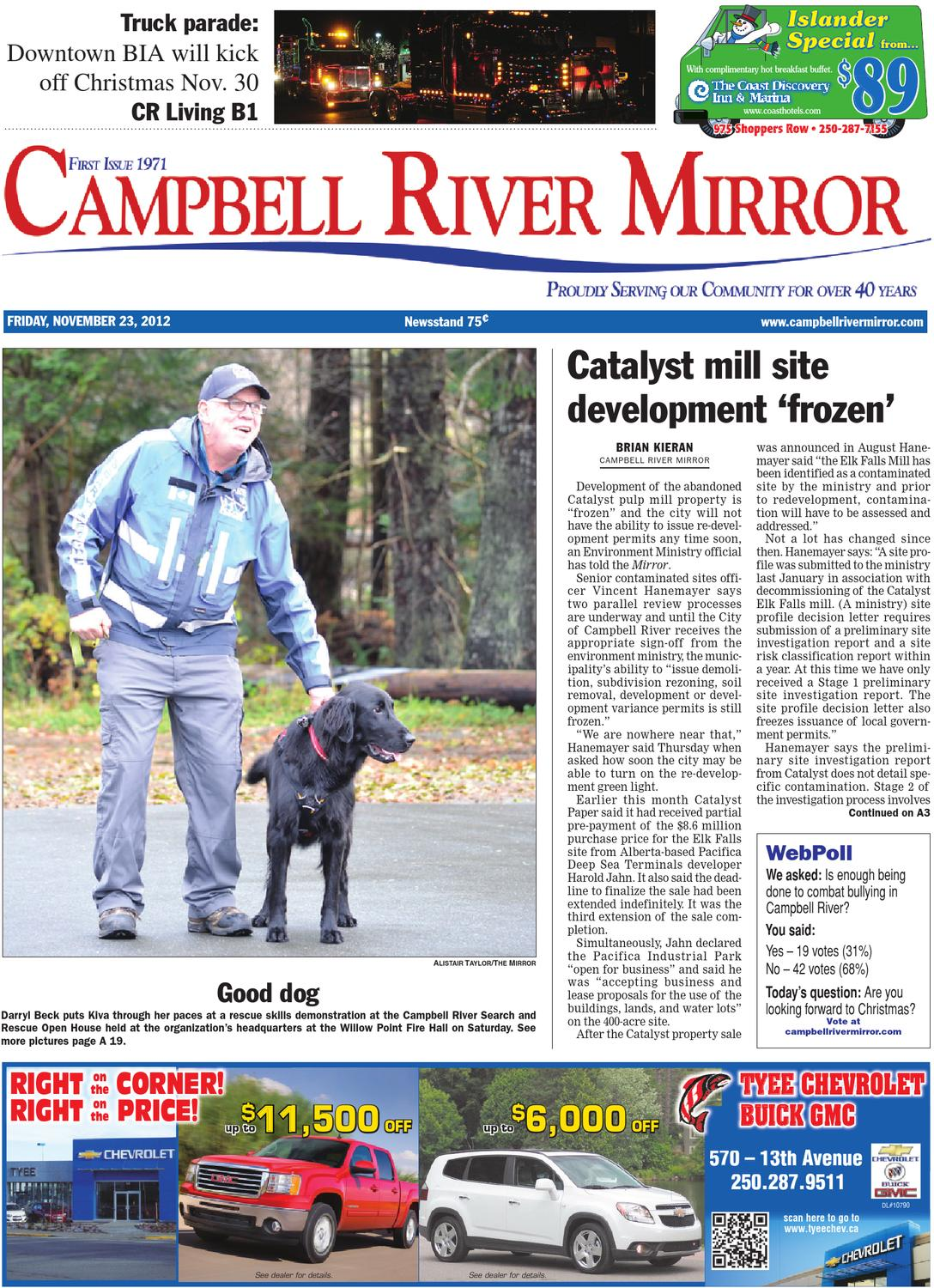 Campbell River Mirror, November 23, 2012 by Black Press - issuu