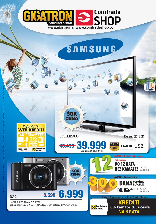 Gigatron I Comtrade Shop Samsung Katalog By Gigatron