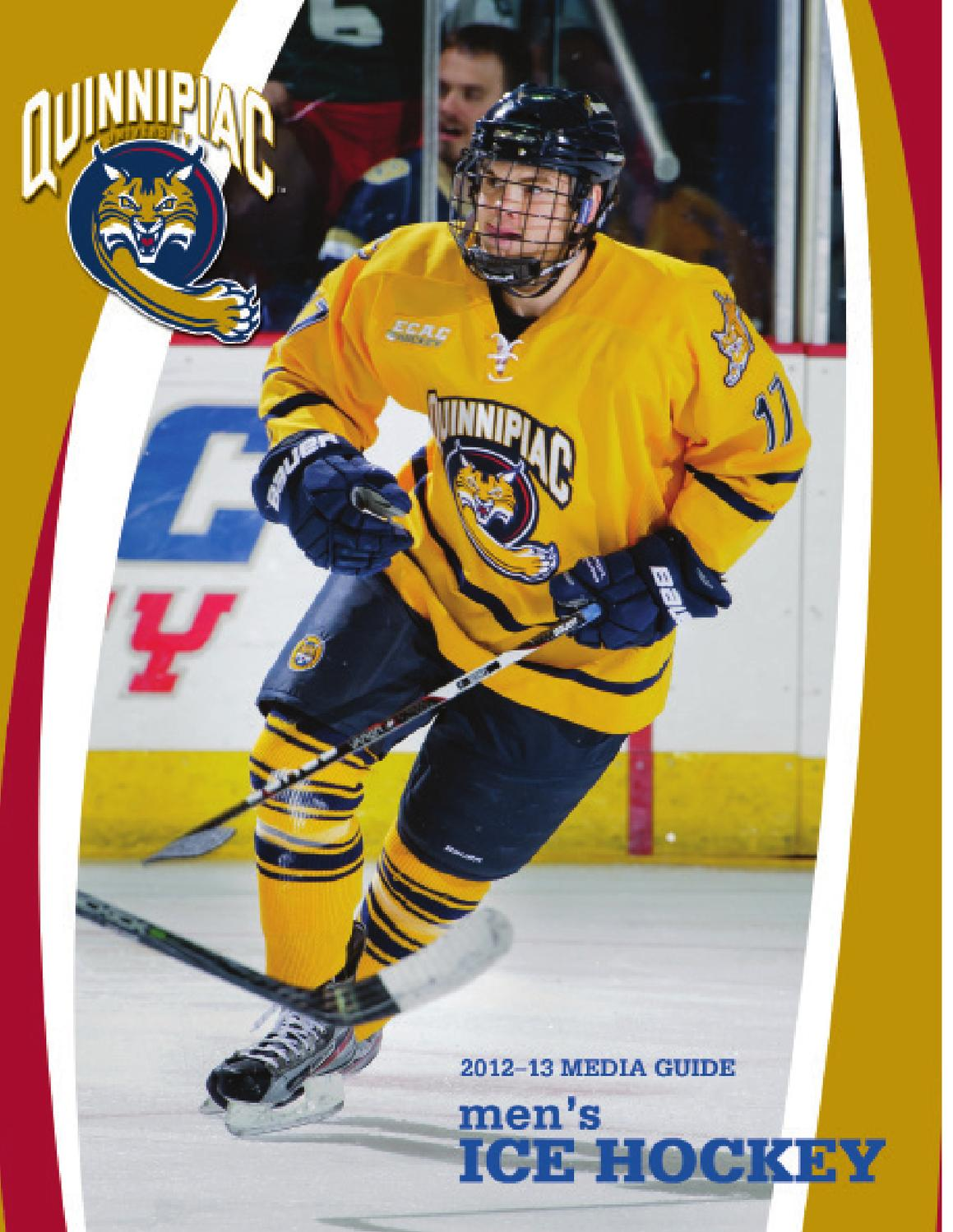 2012-13 QU Men's Ice Hockey Media Guide by Jack McDonald ...