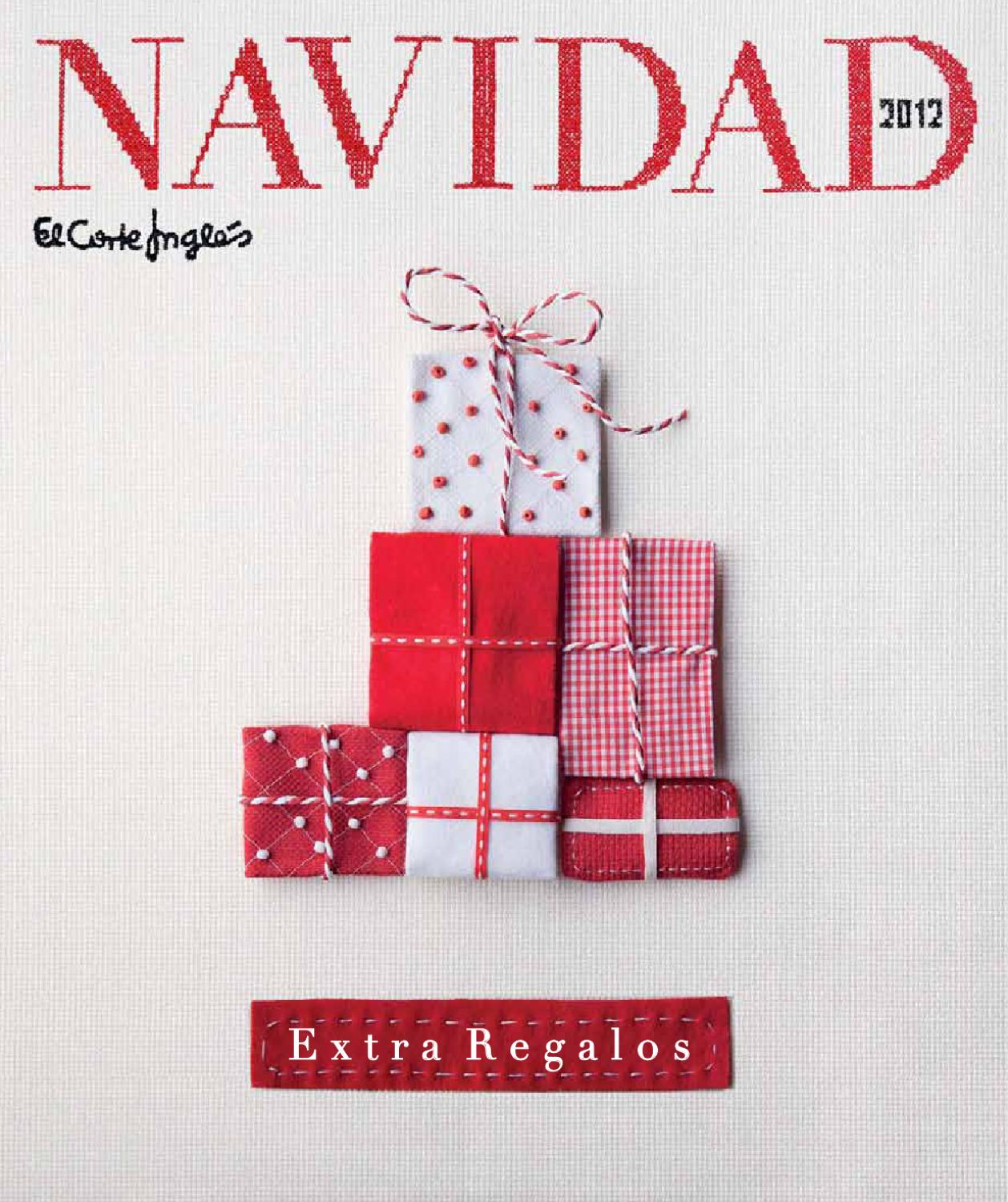 Extra Regalos 2012 Corte Ingles By Jhonny San Issuu
