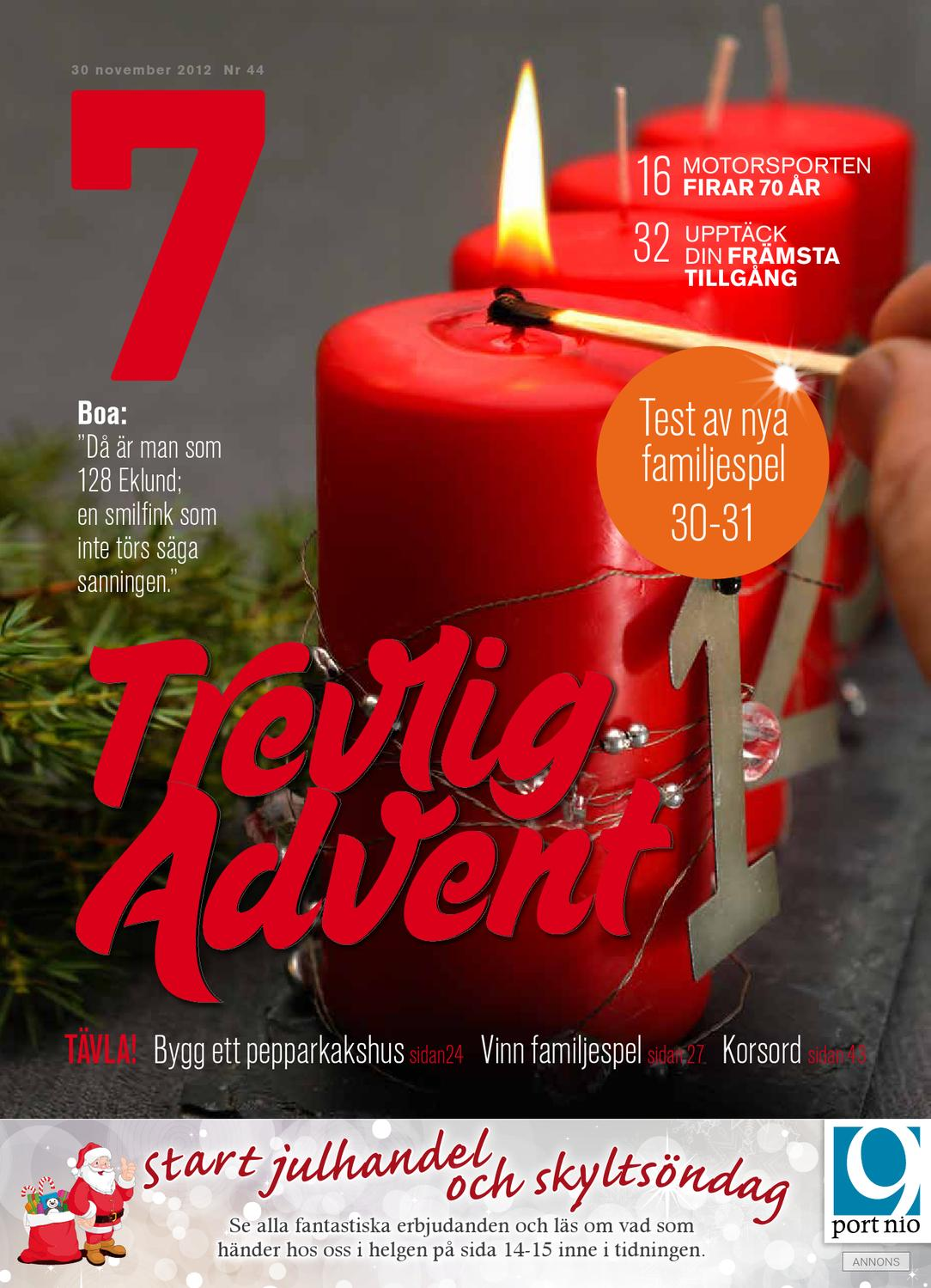 Tidningen 7 nr 44 2012 by 7an mediapartner   issuu