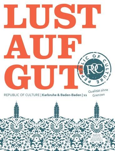 LUST AUF GUT Magazin | </br>Karlsruhe & Baden-Baden Nr. 11