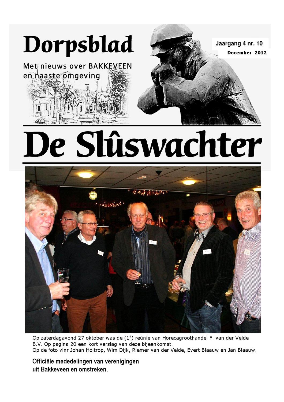 Dorpsblad Slûswachter mei 2013 by De Slûswachter Bakkeveen - issuu
