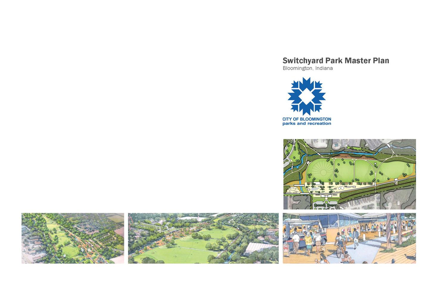 Switchyard park master plan by bloomington indiana parks for Bureau of motor vehicles bloomington indiana