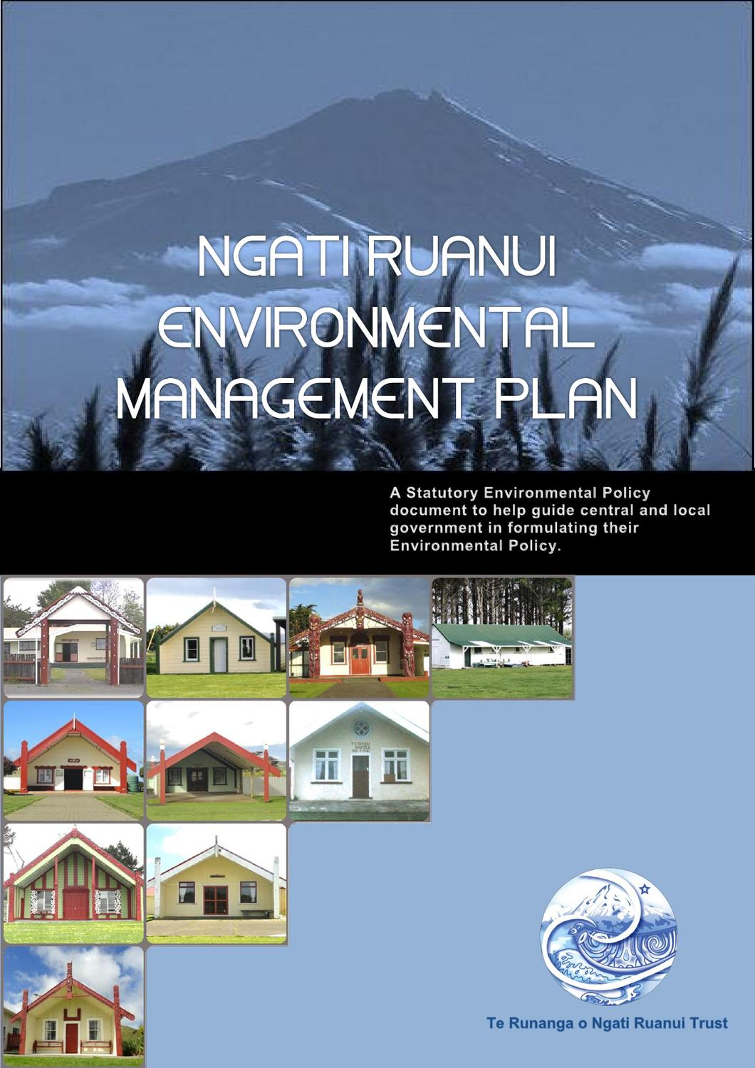Environmental management plan by sarah lee rangi issuu for Aroha new zealand cuisine menu