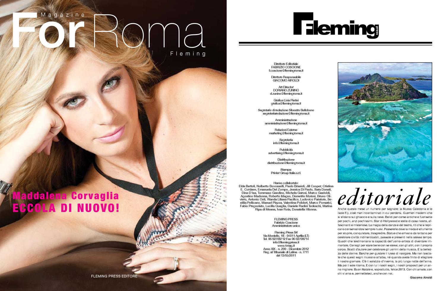 For Roma fleming febbraio 2013 by 4mag magazine - issuu