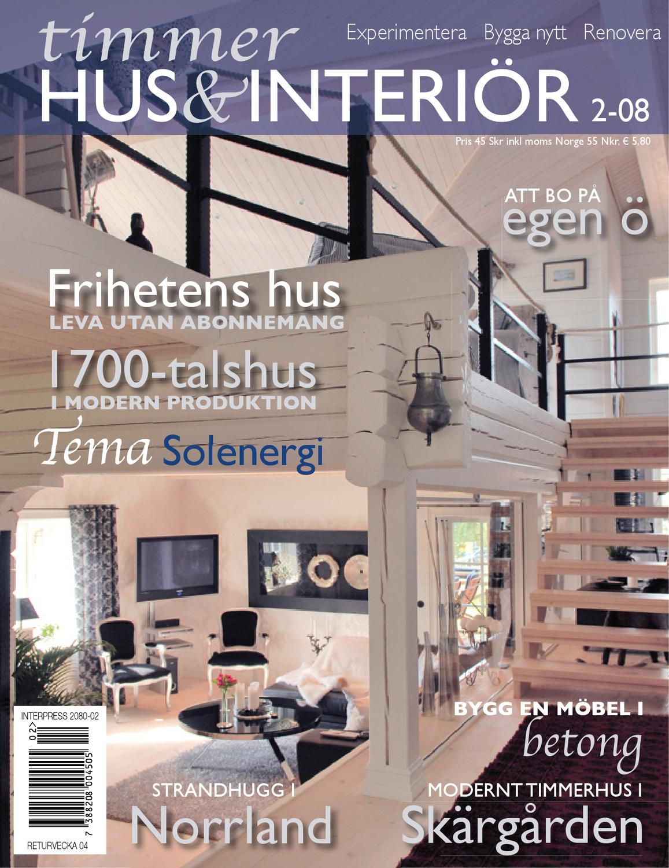 Timmerhus & interiör 1 08 by timmerhus & interior   issuu