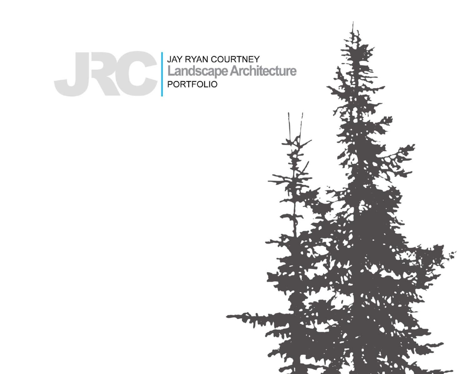 Jay ryan courtney landscape architecture portfolio by for Garden design portfolio