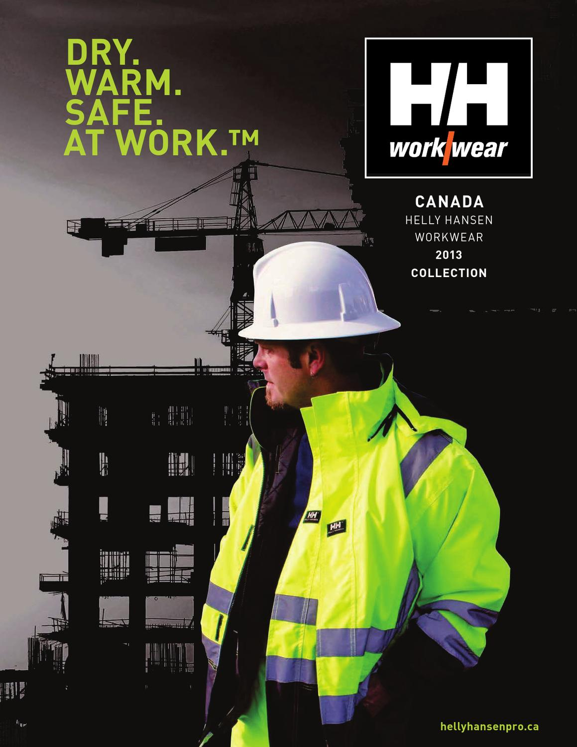 Helly Hansen Workwear English Catalogue 2013 14 By Helly