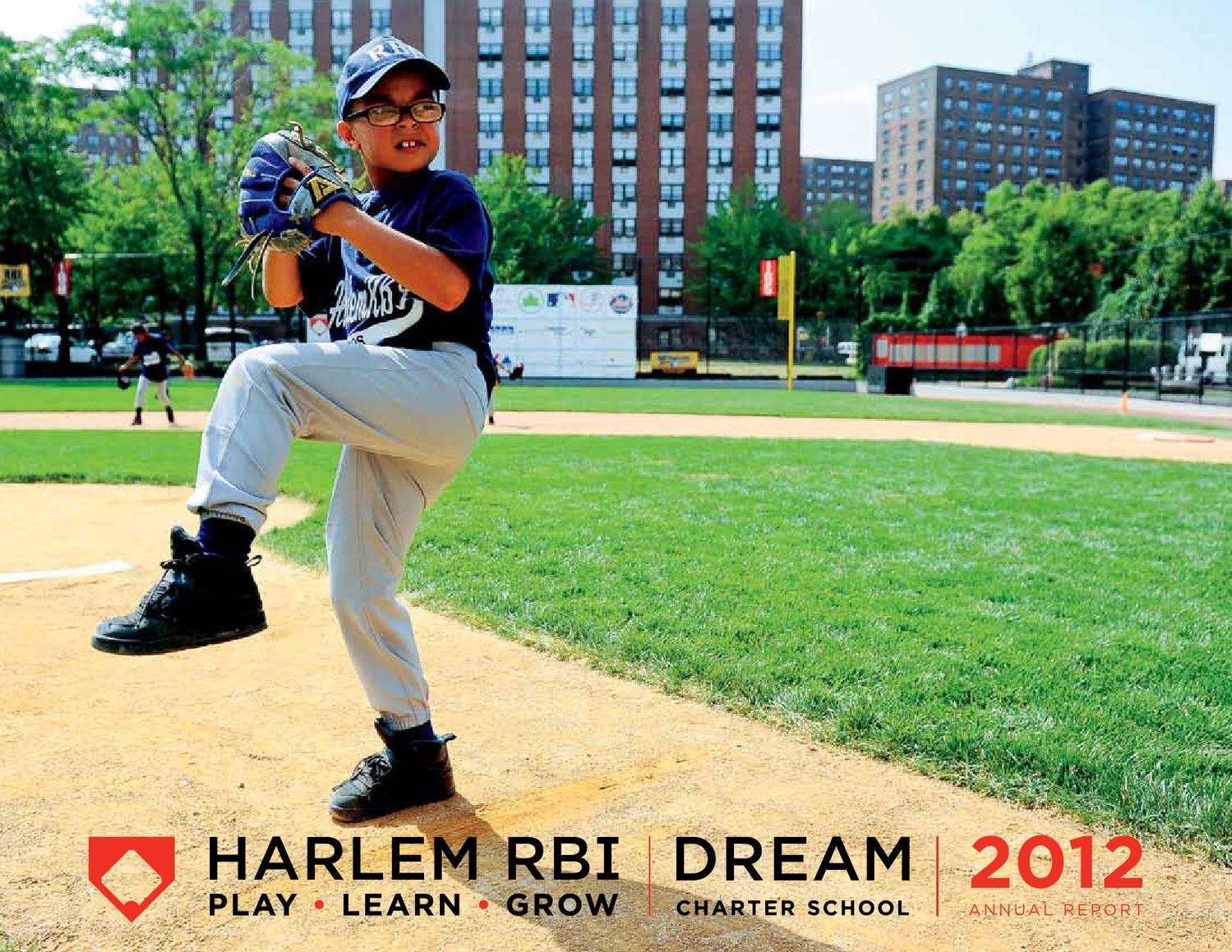 Harlem Rbi And Dream Charter School 2012 Annual Report By