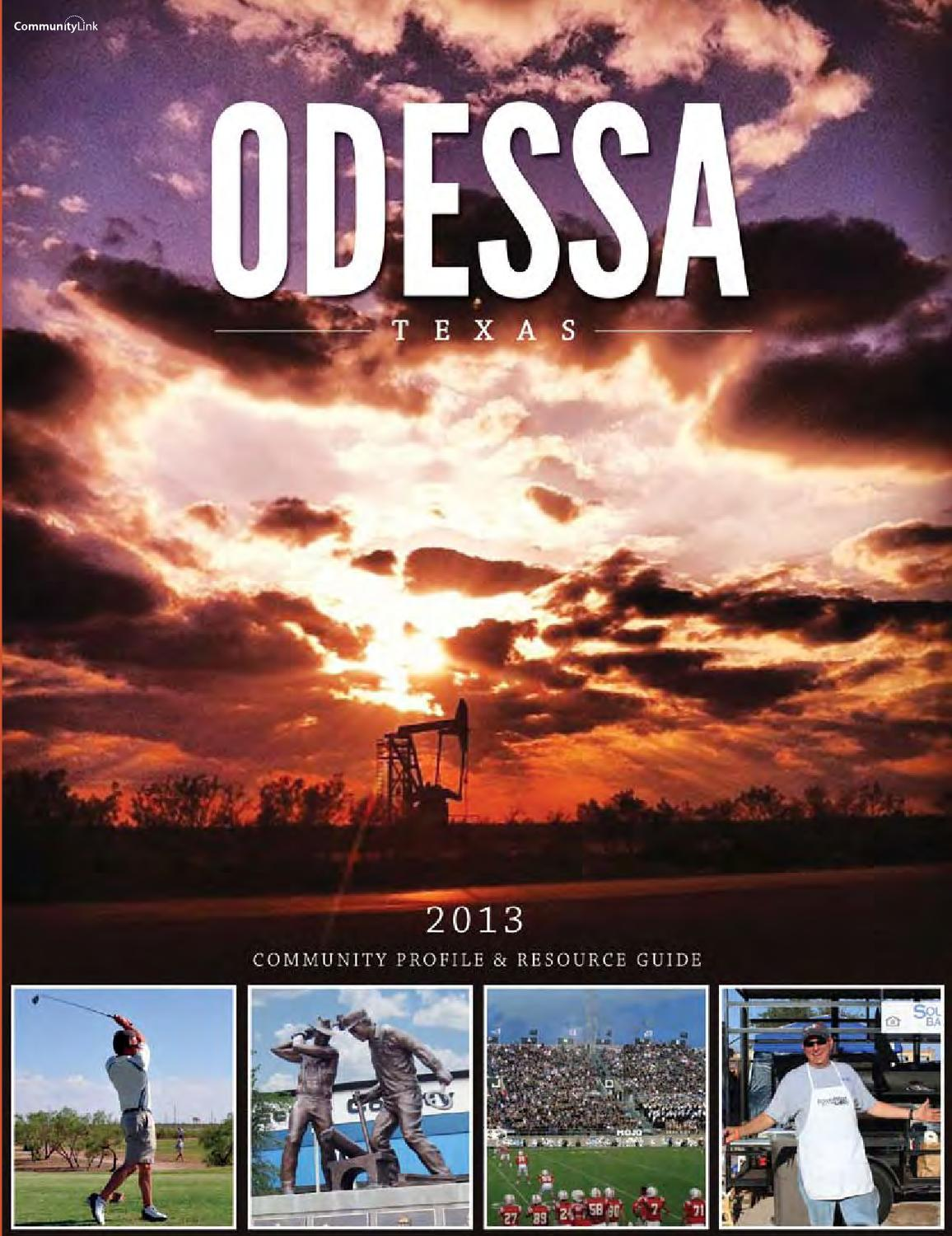 odessa tx 2014 community profile and resource guide by odessa tx 2014 community profile and resource guide by communitylink issuu