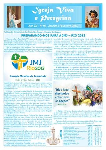 [Igreja Viva e Peregrina – Janeiro/Fevereiro 2013]