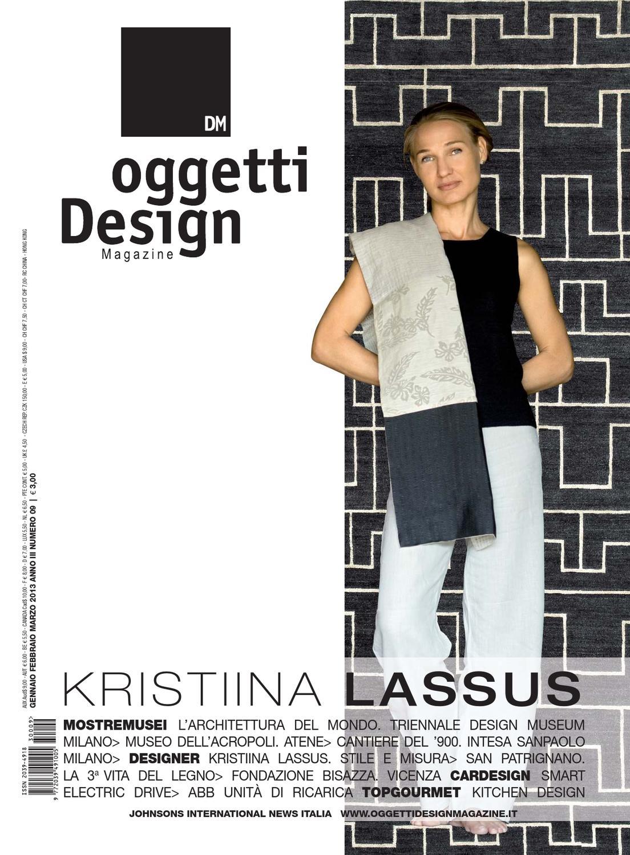 Dm oggetti design magazine n 9 by johnson web for Kristiina lassus