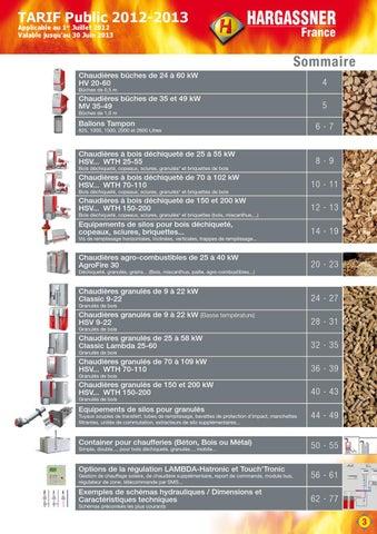 Schema hydraulique hargassner