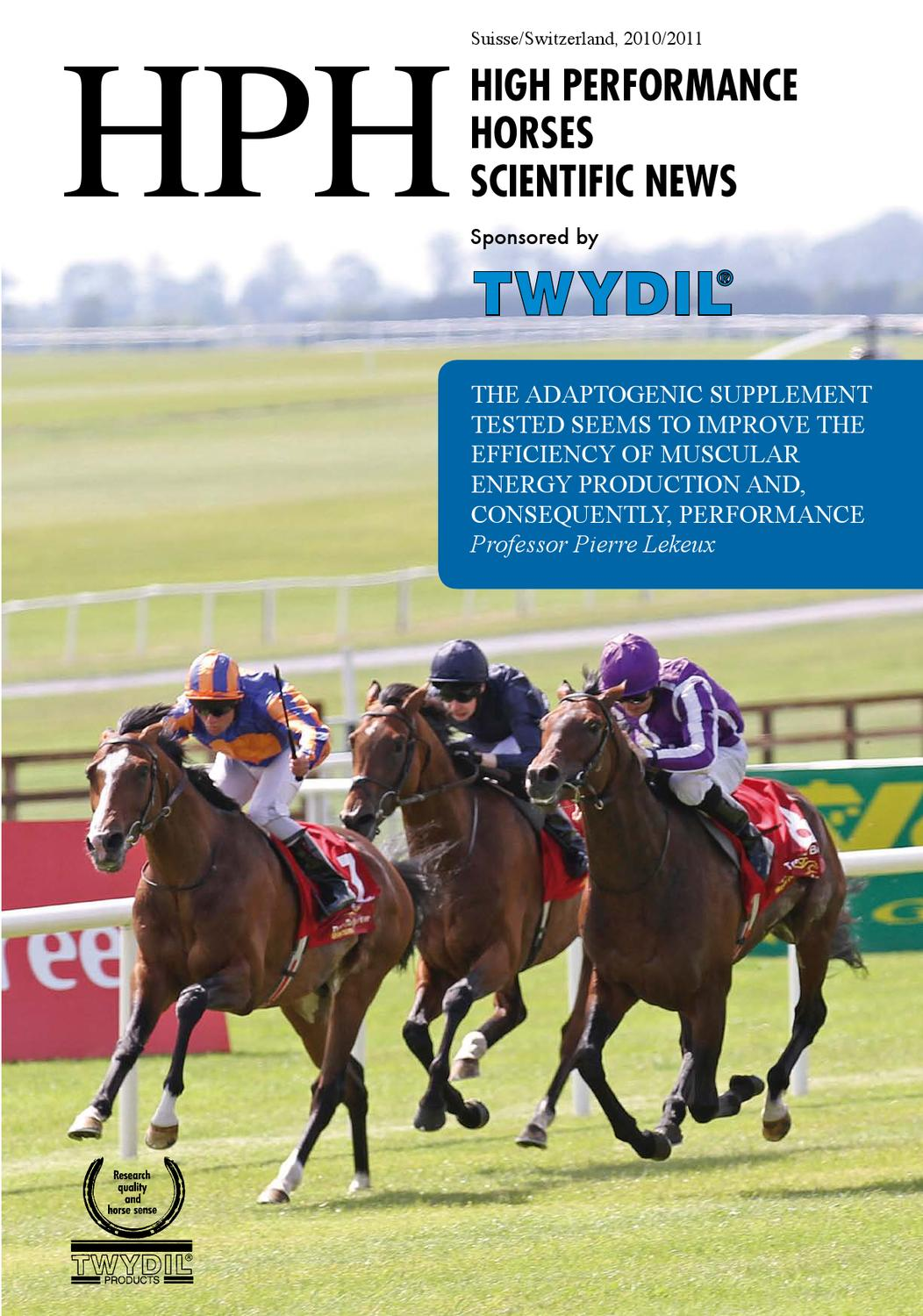 High Performance Horses 2011/2012 by TWYDIL - issuu
