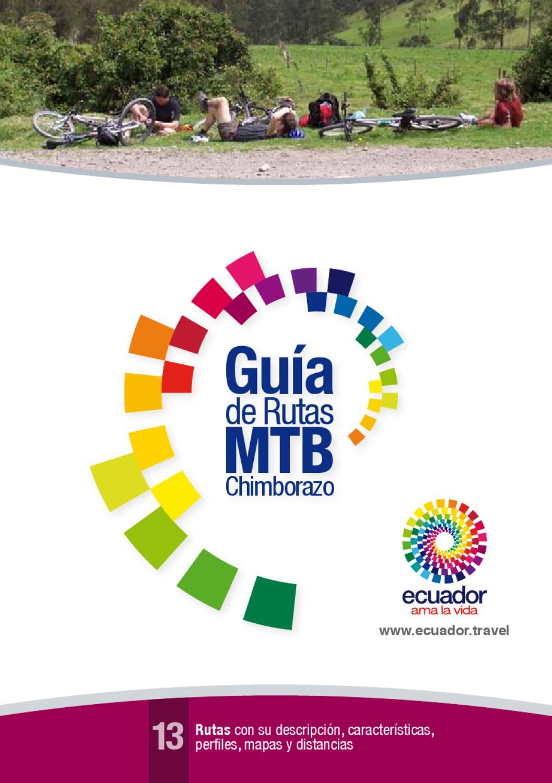 Gu a chimborazo by ministerio turismo issuu for Guia mecanica de cocina pdf