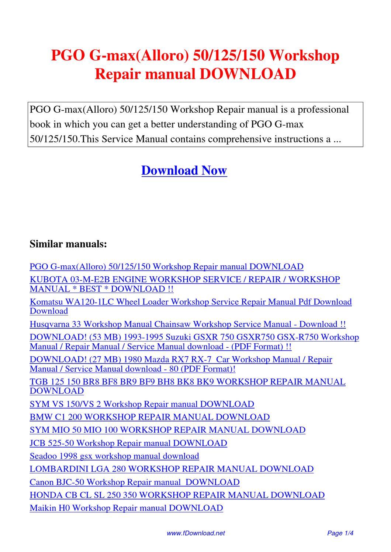 Sym vs 150 manual ebook array pgo g max 125 150 workshop service manual haunted empire apple rh elementalike men fandeluxe Choice Image