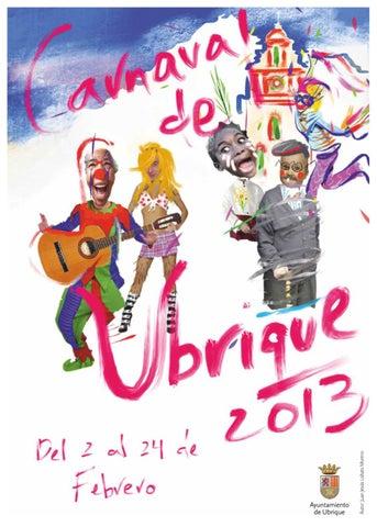 Folleto Carnaval de Ubrique 2013