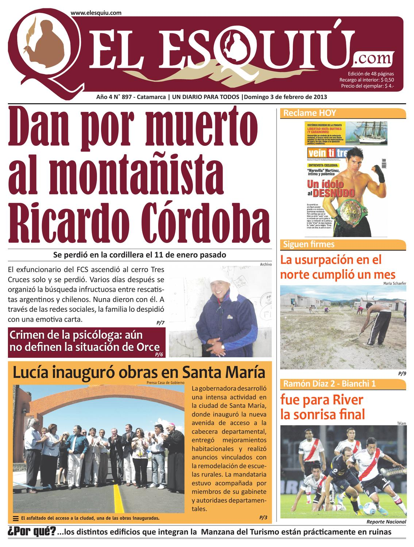 El Esquiu.com, sábado 20 de septiembre de 2014 by Editorial El Esquiú , issuu