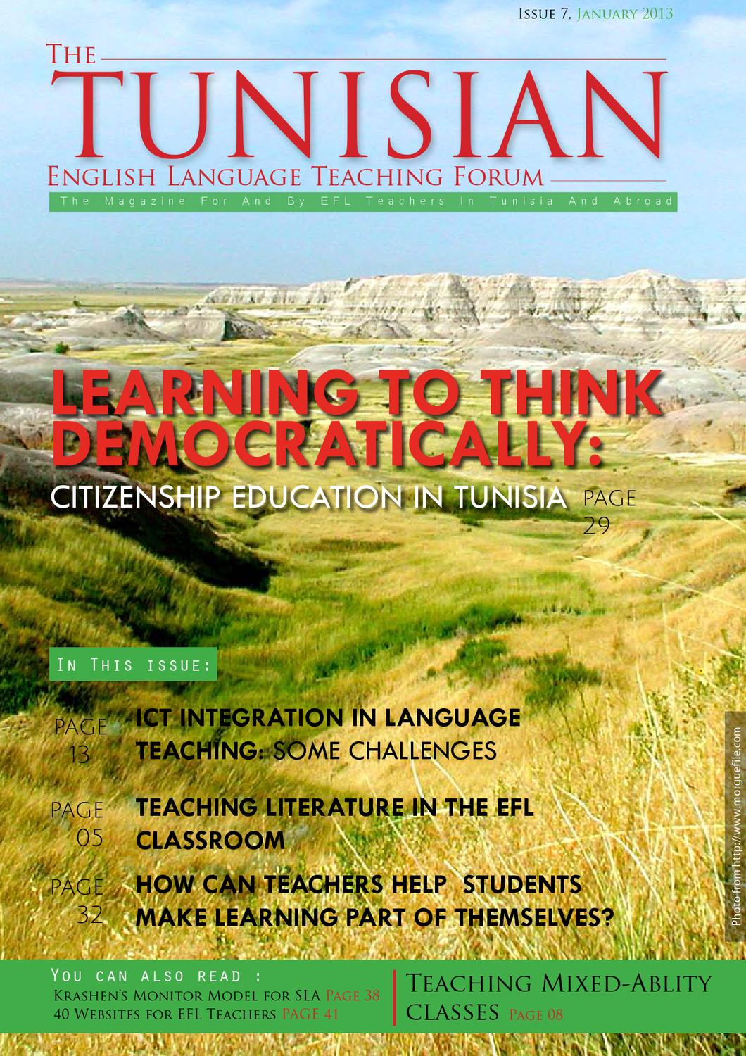 exploring identity through social location maps and language by the tunisian elt forum magazine issue 7