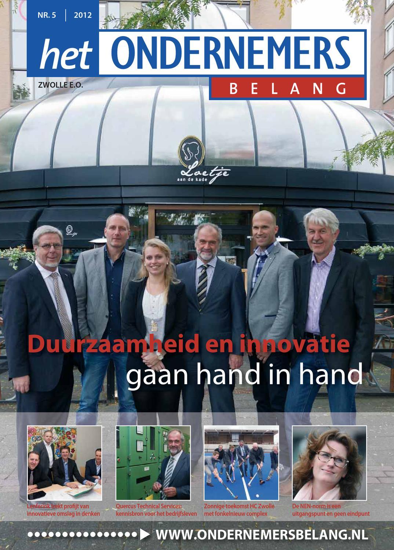 Het Ondernemersbelang Zwolle 5-2012 by Uitgeverij Novema - issuu