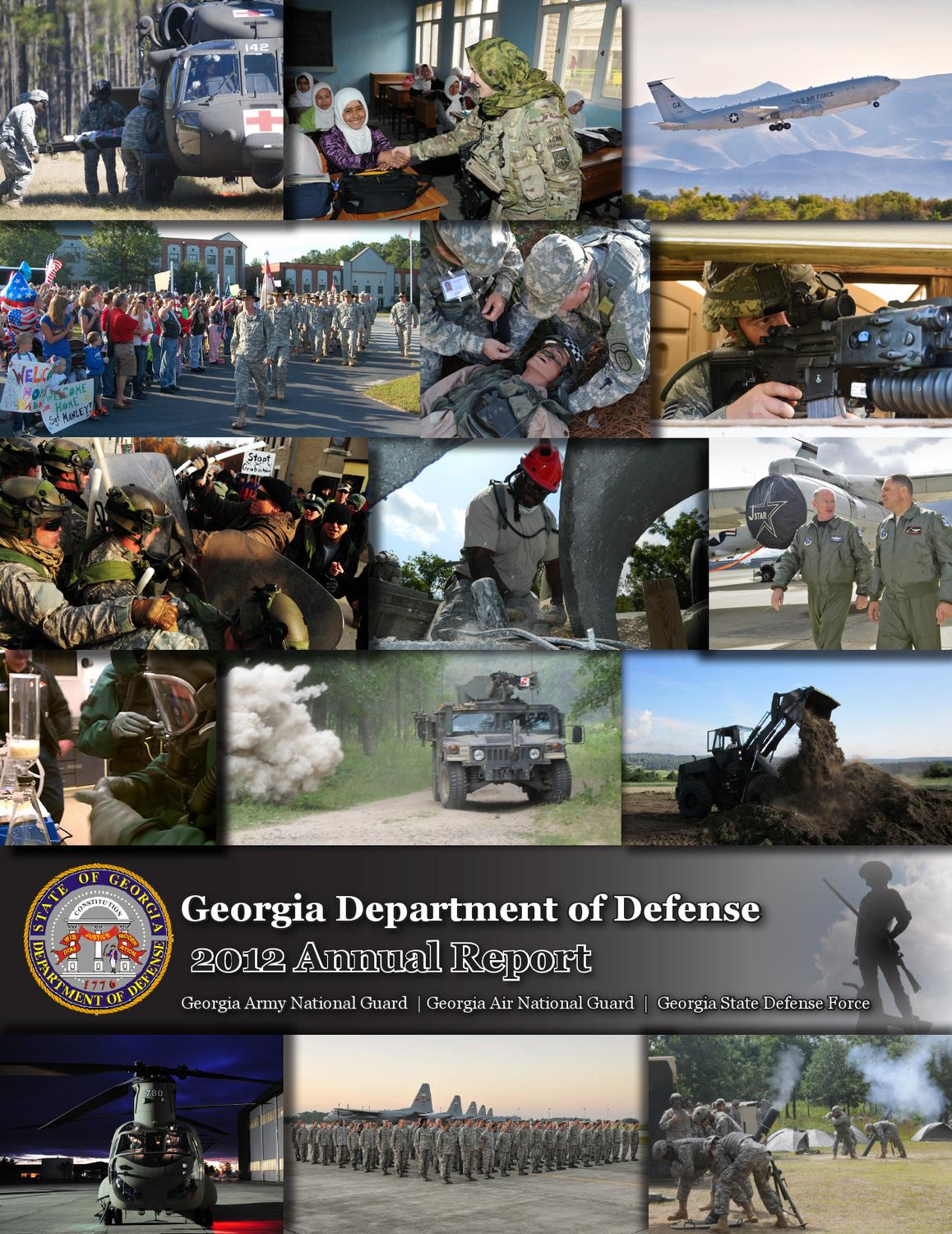 georgia department of defense 2012 annual report by georgia national guard issuu. Black Bedroom Furniture Sets. Home Design Ideas