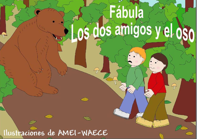LOS DOS AMIGOS Y EL OSO by Ana Martinez Rey - issuu