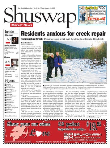 Issuu Salmon Arm Observer February 15 2013 By Black Press
